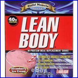 20-40-60 LABRADA Lean Body Shake 20/packs Better Quality Supplements SaveUmore