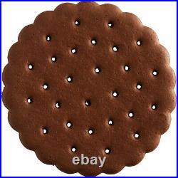 2430 Count Bulk Supply Ice Cream Shop Sandwich Coffee Chocolate Cookie Wafers