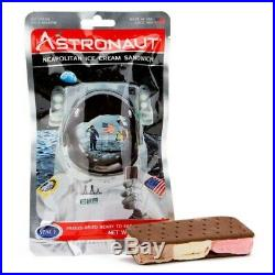 25 pcs. Astronaut Space Food Neapolitan Ice Cream Sandwich Astro Nutrition