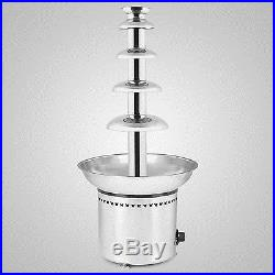 27 5 Tiers Chocolate Fountain Commercial Party Hotel Ice Cream Promotion