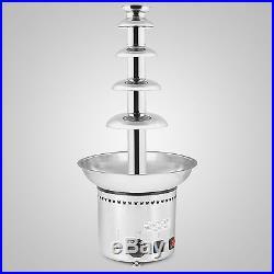 27 5 Tiers Chocolate Fountain Kitchen Home Celebration Diy Ice Cream On Sale