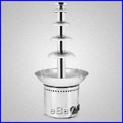 27 5 Tiers Chocolate Fountain Stainless Steel Commercial Ice Cream On Sale