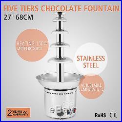27 5 Tiers Chocolate Fountain Wedding Gift Celebration Diy Ice Cream Wholesale