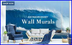 3D Chocolate Ice Cream ZHUA17 Wallpaper Wall Murals Removable Self-adhesive Amy