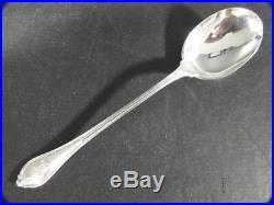 4 Antique Towle OLD NEWBURY Sterling Silver Ice Cream Chocolate SPOON Mono C