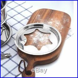 5X10-Piece Set Multifunctional Stainless Steel Ice Cream Chocolate Cheese Hot