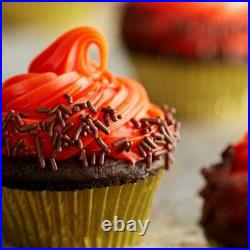 5 lb. Bulk Chocolate Sprinkles Jimmies Ice Cream Cupcake Topping