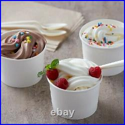 6X 6 Lb (36 Lb) Non-Dairy Vanilla Soft Serve Mix Machine Ice Cream Bag Case