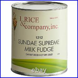 (6/#10 Cans) Bulk Wholesale Chocolate Hot Fudge Dessert Sundae Ice Cream Topping