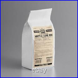 (6 CASE) 5 lb. Bag Chocolate Waffle Cone Mix Ice Cream Cones Flavour