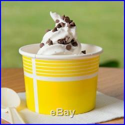6 Pack 6 Lb (36 Lb) Non-Dairy Vanilla Soft Serve Mix Machine Ice Cream Bag Case