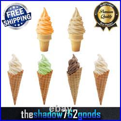 6 Pack 6 lb. Rich Soft Serve Ice Cream Mix Commercial Restaurant Various Flavors
