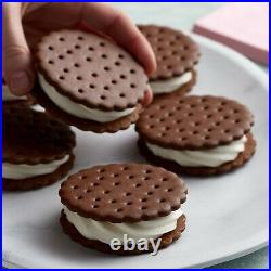 810 Count Bulk Supply Ice Cream Shop Sandwich Coffee Tea Chocolate Cookie Wafers