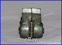 Antique S & Co Pewter Figural Ice Cream Or Chocolate Food Mold Car Buggy 562