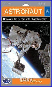 American Outdoor Astronaut Ice Cream Chocolate Chip Pack of 10 Camping Freeze Dr