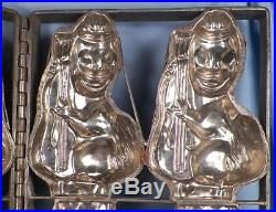 Antique 4 Ducks Playing Bass Fiddles Candy Mold Ice Cream String Chocolate