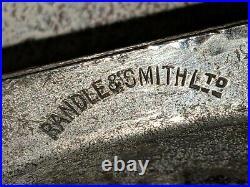Antique Randle & Smith Metal 5 1/2 Chocolate Ice Cream Mold Teddy Bear