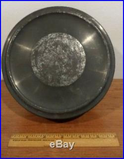 Antique Tin Jelly Pudding Ice Cream Chocolate Mold Mould 11 Hearts & LID Aafa