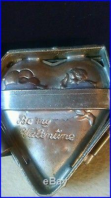 Antique Valentine Mold ice cream chocolate or cake
