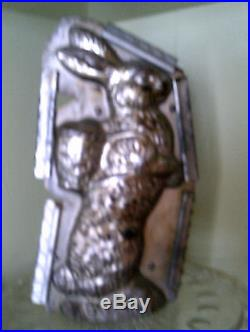 Antique Vintage Easter Bunny Chocolate Ice Cream Mold