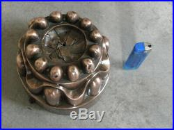 Antique mould Mold copper cake chocolate Ice cream french century pastry dessert
