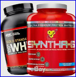 BSN SYNTHA-6 Anytime Premium Matrix Protein Powder Great Tastes Meal Replacement
