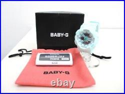 Baby Gee Baby-G Ice Cream Pastel Series Chocolate Mint Digital Analog Watch