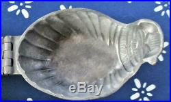 Baby MOSES in a BASKET Pewter ICE CREAM chocolate Mold #485 Egyptian RARE