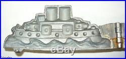 Battleship Ice Cream Hinged Candy Chocolate Ship Mold
