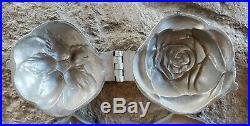 Big Lot 10 Antique Pewter Ice Cream Chocolate Molds E & Co. N. Y. Bear Kewpie Car