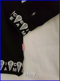 Billionaire Boys Club ICE CREAM nwt Cones Hoodie Black L