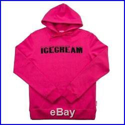 Billionaire Boys Club Ice Cream Infinite Hoodie Pullover 491-1309 Hot Pink NWT
