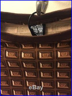 Billionaire Boys Club Ice Cream brown chocolate bar Tee Pharrell William Size XL