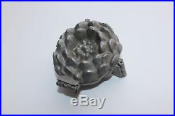 Binder Brothers Yankton SD LILY POND WATERLILY Ice Cream Chocolate Mold Antique