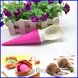C072 Multi-Function Chocolates Spoon Ice Cream Spoon Ice Cream Cake Decorating