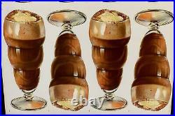 C. 1940 Chocolate Ice Cream Sodas, Malteds, Sundaes
