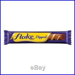 Cadbury Flake 99 Chocolate Dipped 32g X48 Bars Twirl Ice Cream Gift Christmas
