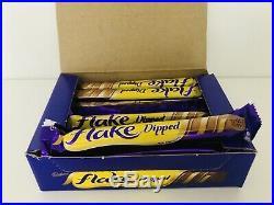 Cadbury Flake 99 DIPPED X48 Bars 32g Chocolate Twirl Ice Cream Gift Cadburys