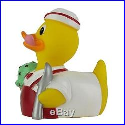 Celebriducks Chip The Mint-Chocolate-Chip Ice Cream Rubber Duck Toy Play New