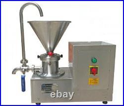 Colloid Mill Machine for Peanut/Sesame Butter Chocolate/Ice Cream Emulsifier
