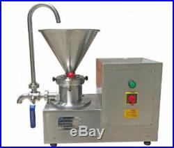 Colloid Mill Machine for Peanut/Sesame Butter Chocolate/Ice Cream Emulsifier ax