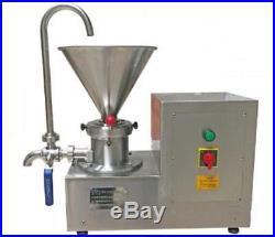 Colloid Mill Machine for Peanut/Sesame Butter Chocolate/Ice Cream Emulsifier e