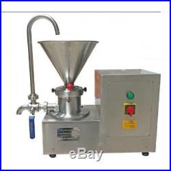 Colloid Mill Machine for Peanut/Sesame Butter Chocolate/Ice Cream Emulsifier ssj