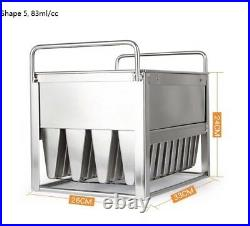Commercial popsicle molds ice cream molds reuseable 6 different size to select