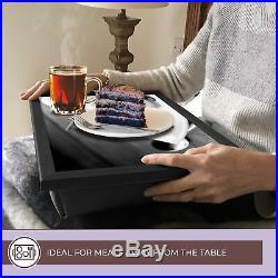 Deluxe Lap Tray BW Chocolate Vanilla Ice Cream Scoops #42690