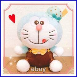 Doraemon Special Ice Cream Plush Doll Chocolate Mint