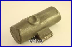 E&Co Antique Kitchen Wood Yule Log Ice Cream Chocolate Pewter Metal Mold #987