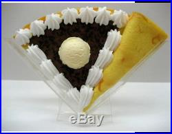 Fake Food Chocolate Chip & Chocolate Cream Ice Cream Crepe Made In Japan F/S NEW