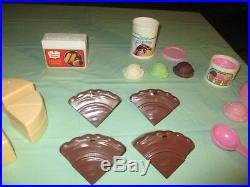 Fisher Price Fun Food Rare Chocolate Cake Party Ice Cream Htf