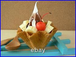 Food Samples Goods Sweets Dessert Chocolate Banana Waffle Soft Parfait Ice Cream